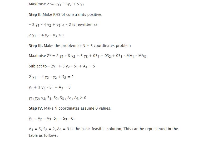 Interpreting Primal Dual Optimal Solutions 2