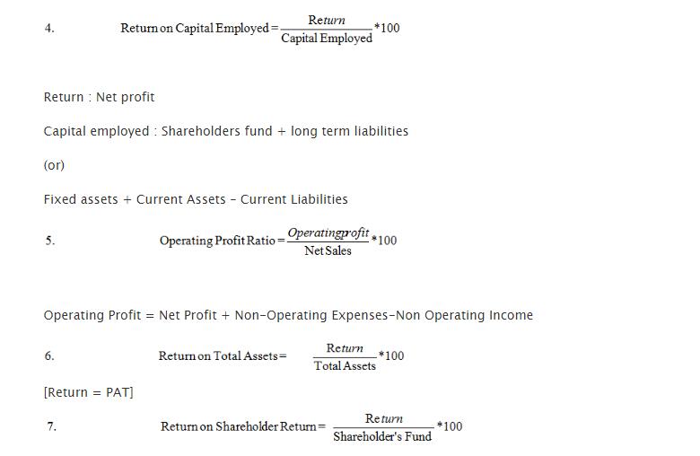 Profitability Ratios 2