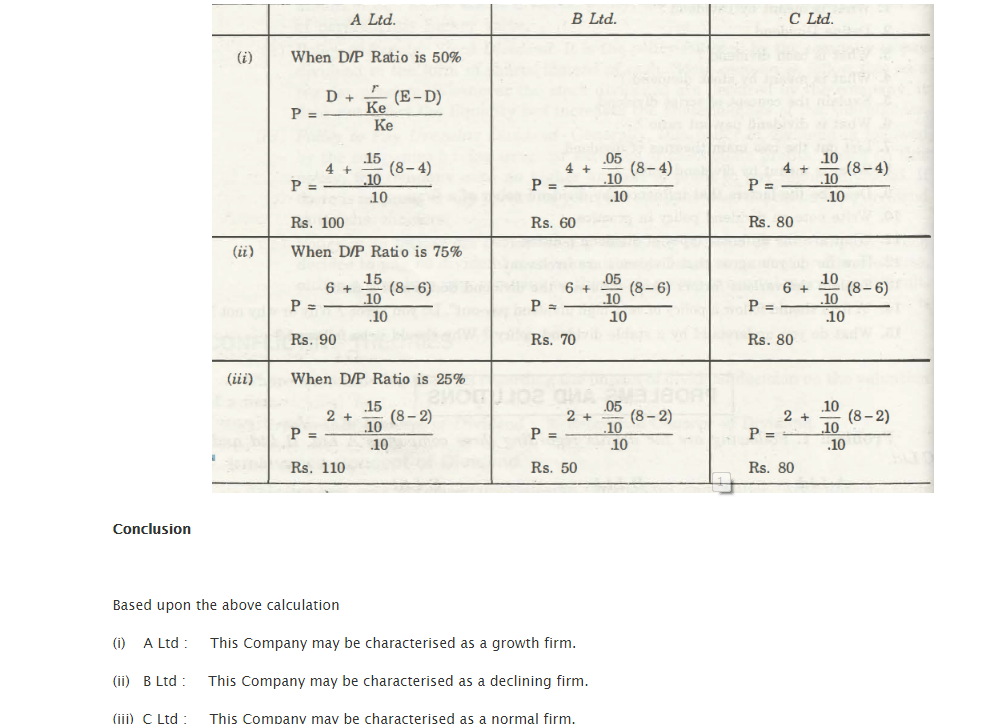 Test Questions Dividend 3