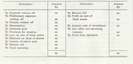 Steps in Preparation of Fund Flow Statement 5