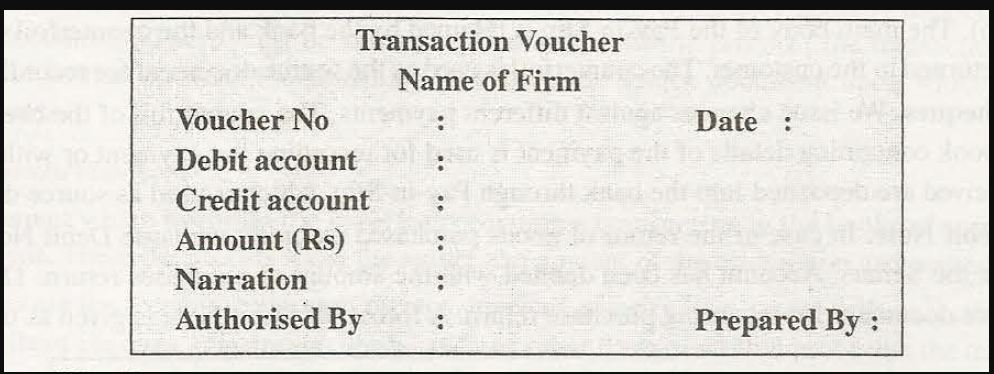documents or vouchers 3
