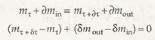 Equation for Conservation of Mass 2