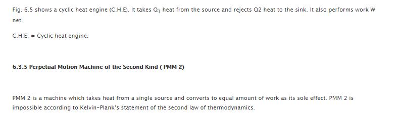Kelvin Plank Statement of Second Law of Thermodynamics 8