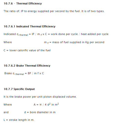Performance of I.C. Engines 3