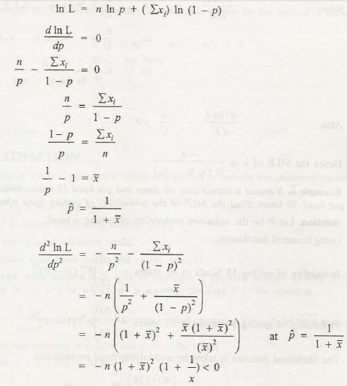 Point Estimation 2