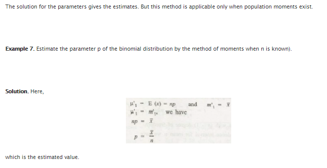 Point Estimation 6