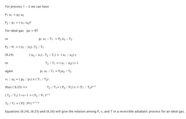 """Reversible Adiabatic Process 21"""" = C"""
