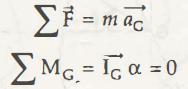 "Translation in Plane Kinetics of Rigid Bodies"" = C"