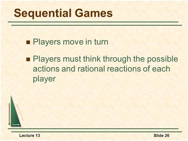"Game Theory and Competitive Strategy 9"" = C"