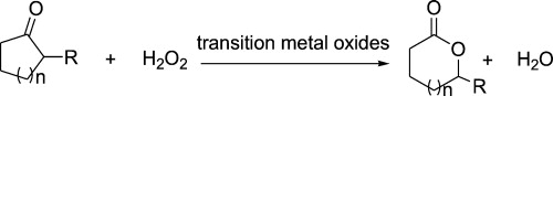 "Oxidation of Cyclic Ketone 1"" = C"