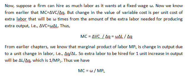 """The Cost of Production 2"""" = C"""
