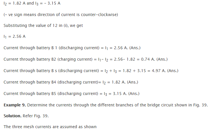 Applications of Kirchhoff's Lawss 21