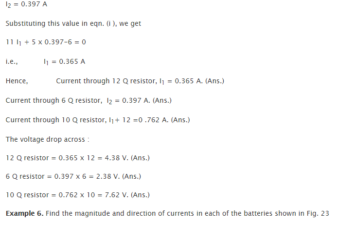 Applications of Kirchhoff's Lawss 7