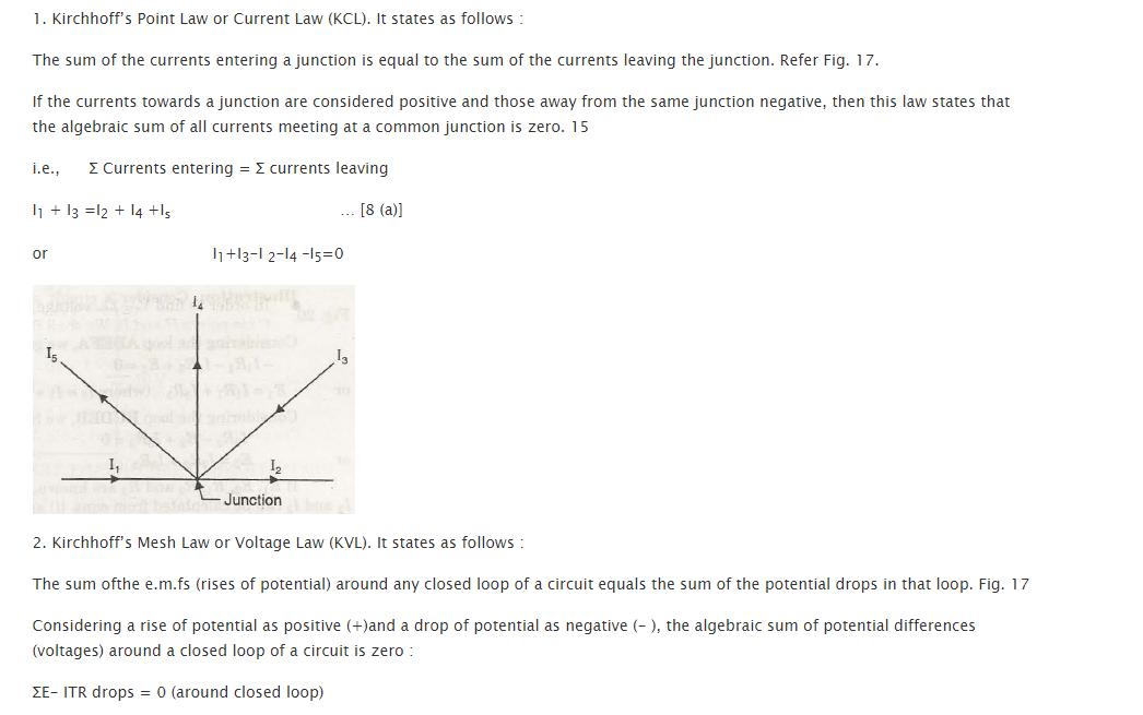 Kirchhoff 's Laws 1