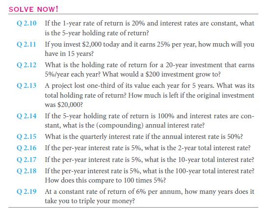 The Time Value of Money, Future Value, and Compounding 27