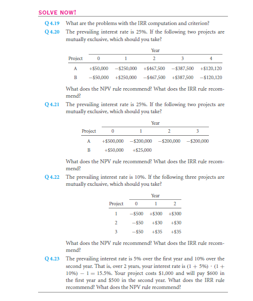 The Internal Rate of Return (IRR) 30