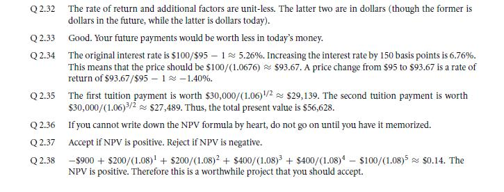 Net Present Value 56