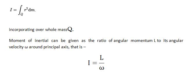 moment of inertia homework1