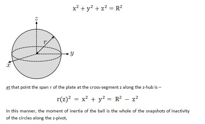 moment of inertia homework2
