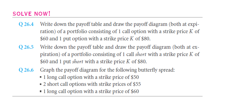 Option Pay-Offs At Expiration 9