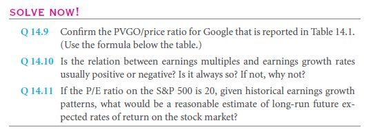 The Price/Earnings (P/E) Ratio 30