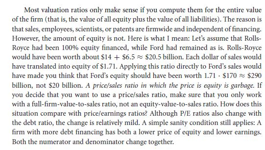 Other Financial Ratios 56