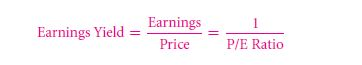 The Price/Earnings (P/E) Ratio 8