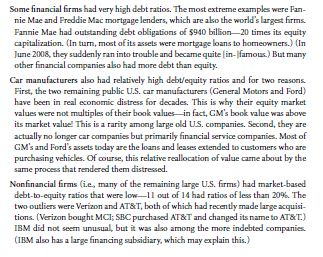 Empirical Capital Structure Patterns 15