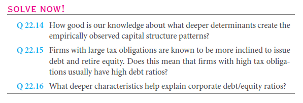What Are the Underlying Rationales for Capital Structure Changes? 1