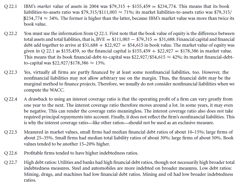 Survey Evidence from CFOs 5