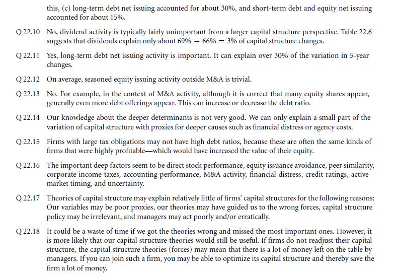 Survey Evidence from CFOs 6