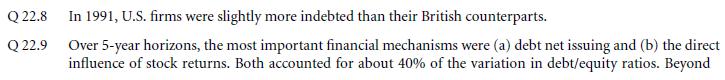 Survey Evidence from CFOs