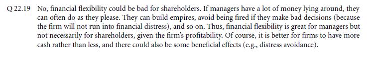 Survey Evidence from CFOs 7