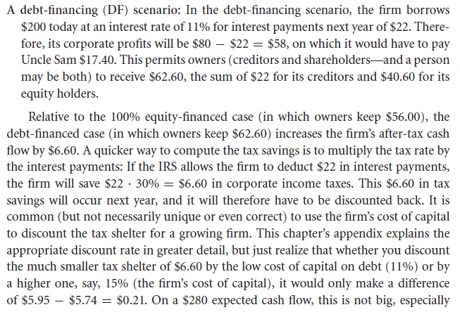 Firm Value under Different Capital Structures 11