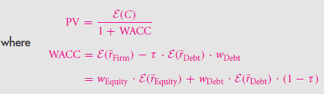 Formulaic Valuation Methods: APV and WACC 27