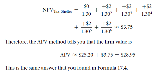 A Sample Application of Tax-Adjusted Valuation Techniques 46