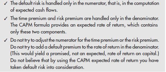 An NPV Checklist 9