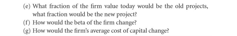 The Weighted Average Cost of Capital (WACC) 46