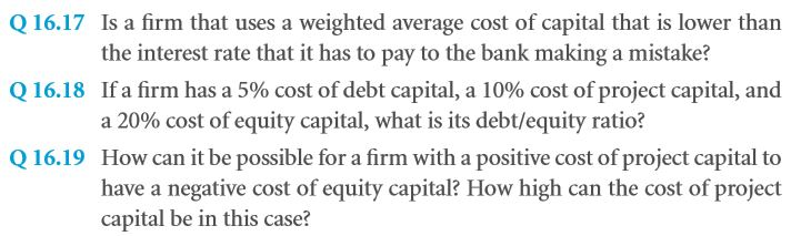 The Big Picture: How to Think of Debt and Equity 49