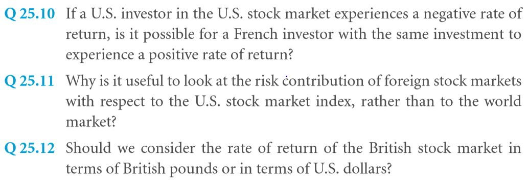 Investments in Foreign Financial Markets 5