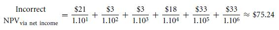 A Bottom-Up Example—Long-Term Accruals (Depreciation) 14