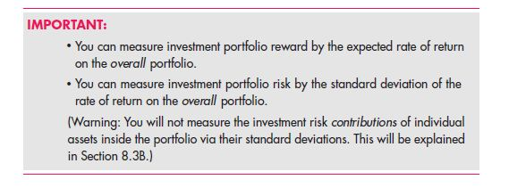 Investor Choice: Risk and Reward
