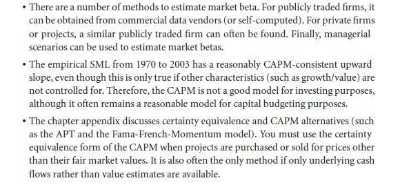 Empirical Evidence: Is the CAPM the Right Model? 31
