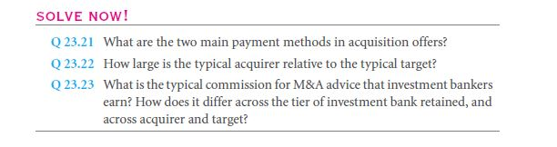 Mergers & Acquisitions (M & A) From the Firm's Perspective 38