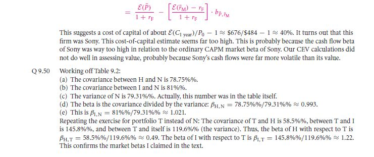 Theory: CAPM Alternatives!? 86