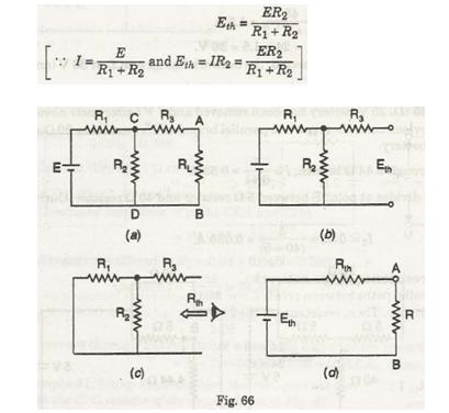 Thevenin's theorem 1