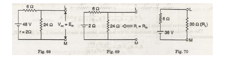 Thevenin's theorem 3