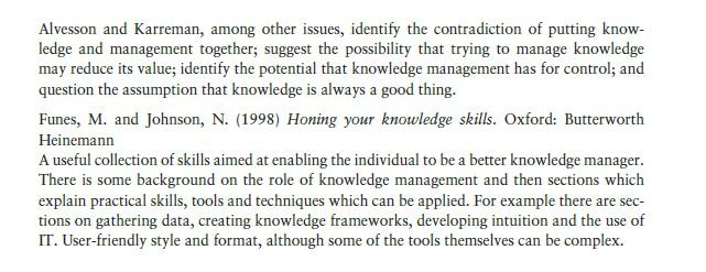 Managing Knowledge 12