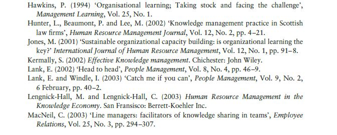 Managing Knowledge 14