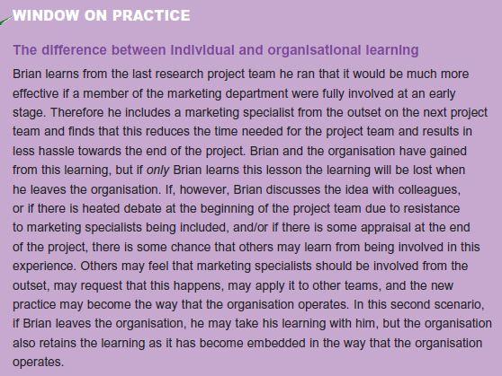 Learning Organization 4